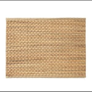 4x place mats 14 x 18 Natural sea grass